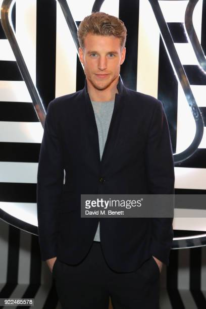 Roger Frampton attends the Brits Awards 2018 After Party hosted by Warner Music Group Ciroc and British GQ at Freemasons Hall on February 21 2018 in...