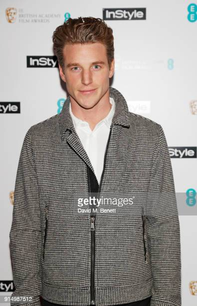 Roger Frampton attends the InStyle EE Rising Star Party at Granary Square on February 6 2018 in London England