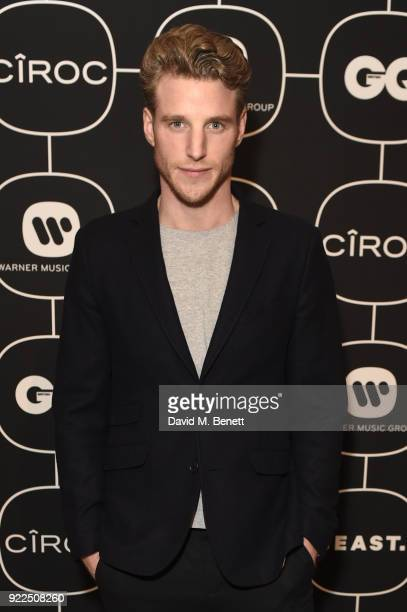 Roger Frampton attends the Warner Music CIROC BRIT Awards 2018 afterparty at Freemasons Hall on February 21 2018 in London England