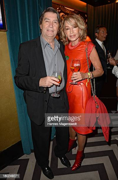 Roger Fritz and Margit Friedrich attend the life charity cocktail in favor of Hadassah Medical Center in Jerusalem on September 10 2013 in Munich...
