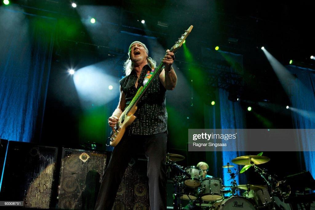 Deep Purple Perform In Oslo