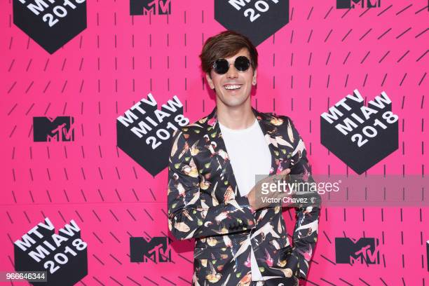 Roger Gonzalez attends the MTV MIAW Awards 2018 at Arena Ciudad de Mexico on June 2 2018 in Mexico City Mexico