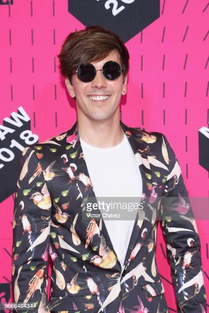 Roger Gonzalez attends the MTV MIAW Awards 2018 at Arena Ciudad de Mexico on June 2 2018 in Mexico City Mexico