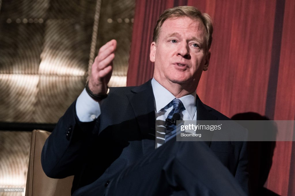 NFL Commissioner Roger Goodell Speaks At ECNY Luncheon