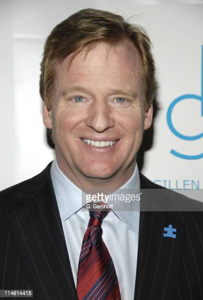 Roger Goodell NFL commissioner during Kickoff for a Cure II Benefit Gala at The Waldorf=Astoria in New York City New York United States