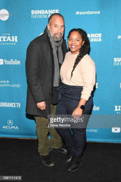 Roger Guenveur Smith and Daysha Broadway attends the Indie Episodic Program 2 during the 2019 Sundance Film Festival at Prospector Square Theatre on...