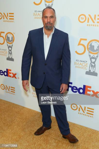 Roger Guenveur Smith attends 50th NAACP Image Awards Nominees Luncheon Arrivals at Loews Hollywood Hotel on March 09 2019 in Hollywood California