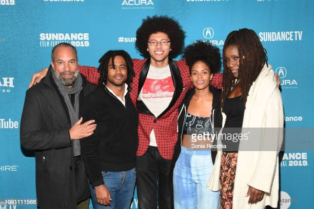 Roger Guenveur Smith Christian Henley Caleb Jaffe Gabrielle Maiden and Ayana Peters attend the Indie Episodic Program 2 during the 2019 Sundance Film...