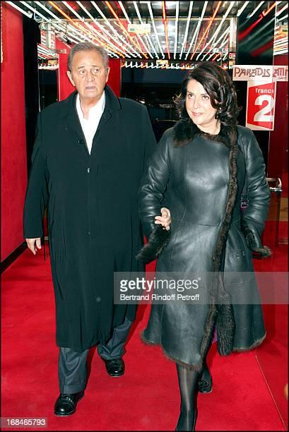 Roger Hanin at Dalida TV Film Tribute To The Singer