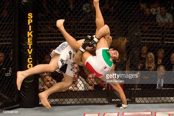 Roger Huerta def Clay Guida Submission 31 round 3 during The Ultimate Fighter 6 Finale on December 8 2007 in Las Vegas Nevada