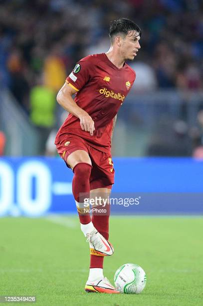 Roger Ibanez of AS Roma during the UEFA Conference League group C match between AS Roma and AS Roma at Stadio Olimpico, Rome, Italy on 16 September...