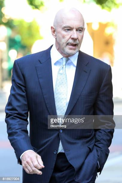 Roger Jenkins former chairman of investment banking for the Middle East at Barclays Plc arrives at Southwark Crown Court in London UK on Monday July...