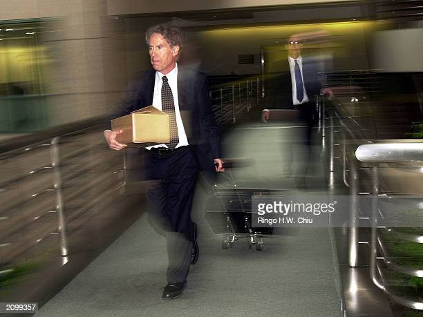 Roger Jon Diamond attorney for Max Factor heir Andrew Luster walks to the Office of the Clerk after a petition asking the California Supreme Court to...