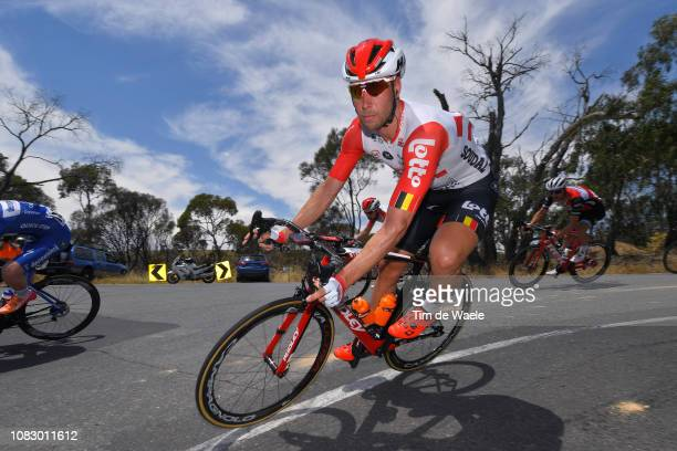 Roger Kluge of Germany and Team Lotto Soudal / during the 21st Santos Tour Down Under 2019 Stage 1 a 129km stage from Adelaide to Adelaide / TDU / on...