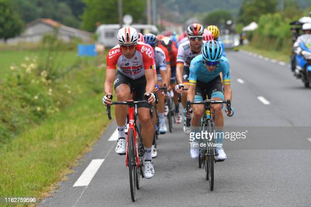 Roger Kluge of Germany and Team Lotto Soudal / Pello Bilbao of Spain and Astana Pro Team / during the 106th Tour de France 2019 Stage 12 a 2095km...