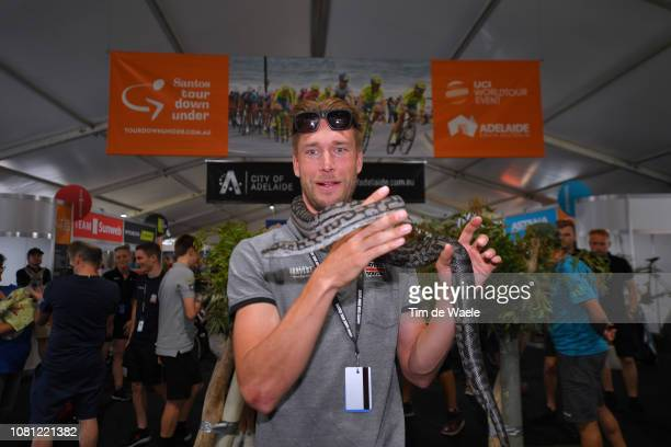 Roger Kluge of Germany and Team Lotto Soudal / Snake / during the 21st Santos Tour Down Under 2019 Team Presentation / Adelaide Tour Village / on...