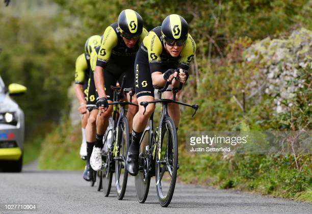 Roger Kluge of Germany and Team Mitchelton-Scott / during the 15th Tour of Britain 2018, Stage 5 a 14km Team Time Trial from Cockermouth to Keswick -...