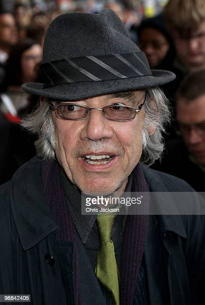Roger Lloyd Pack arrives at the Sweet Charity press night at the Theatre Royal on May 4 2010 in London England
