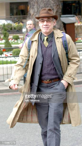 Roger Lloyd Pack during Roger Lloyd Pack Sighting at The Dorchester March 22 2005 at The Dorchester in London Great Britain