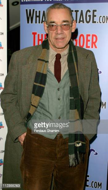 Roger Lloyd Pack during Theatregoers' Choice Awards 2006 at Planet Hollywood in London Great Britain