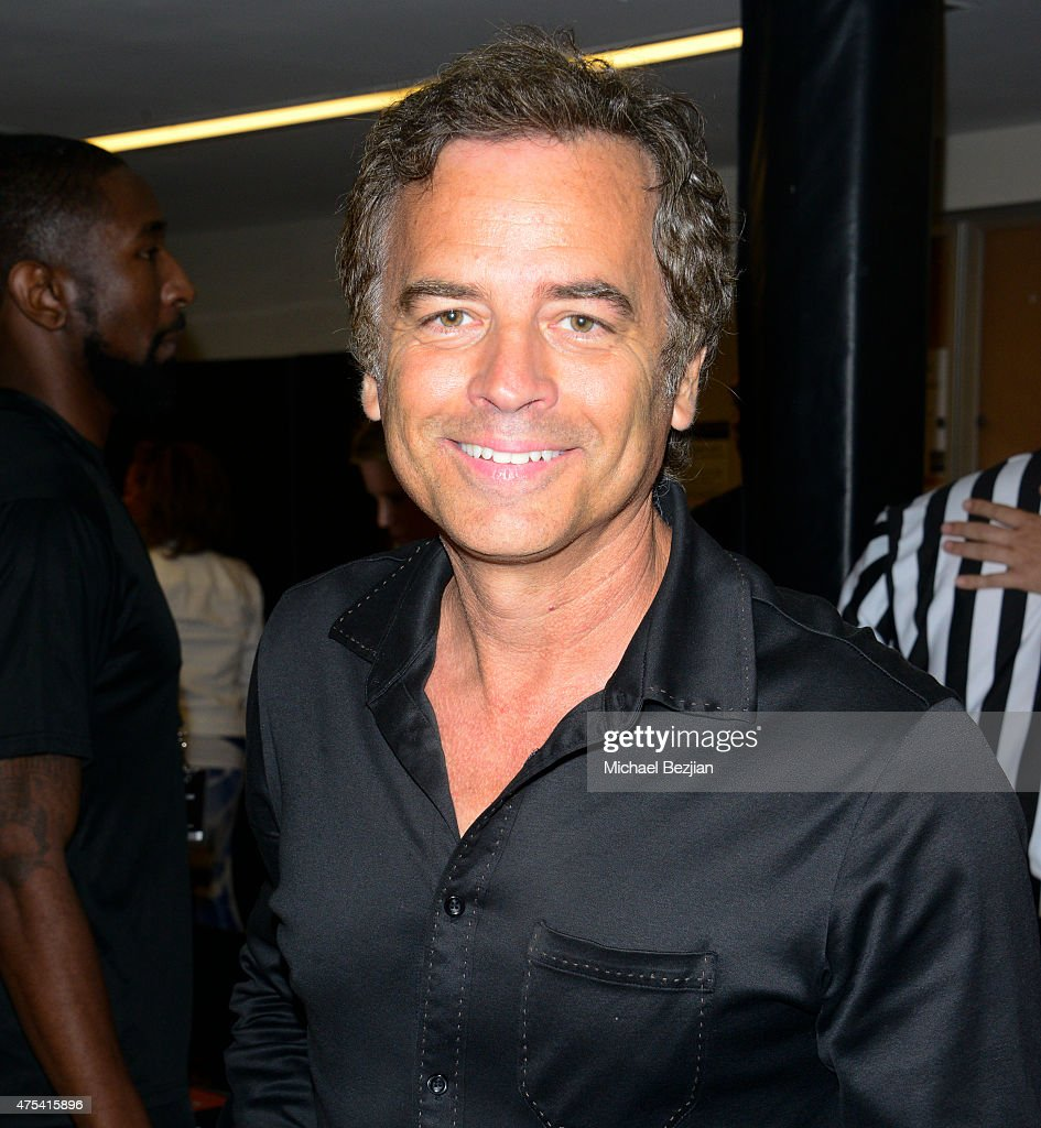 Roger Lodge attends LA Gear Presents Sports Spectacular Charity Basketball Game Hosted By Tyga on May 30, 2015 in Los Angeles, California.