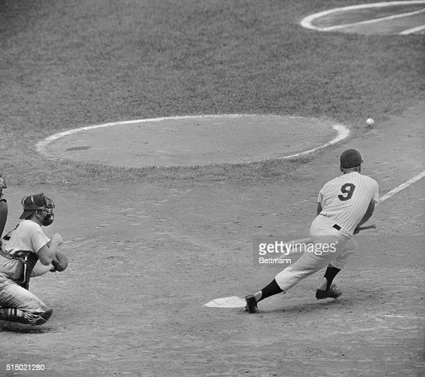 Roger Maris and Mickey Mantle lost ground in their efforts to equal or surpass Babe Ruth's home run record 9/4 Mantle made a brief defensive...