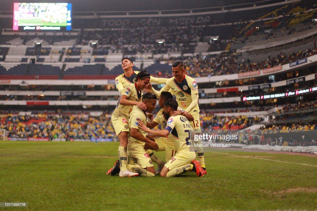 Club America v Monterrey - Torneo Apertura 2018 Liga MX : News Photo