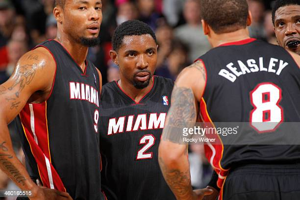 Roger Mason Jr #21 of the Miami Heat in a game against the Sacramento Kings on December 27 2013 at Sleep Train Arena in Sacramento California NOTE TO...