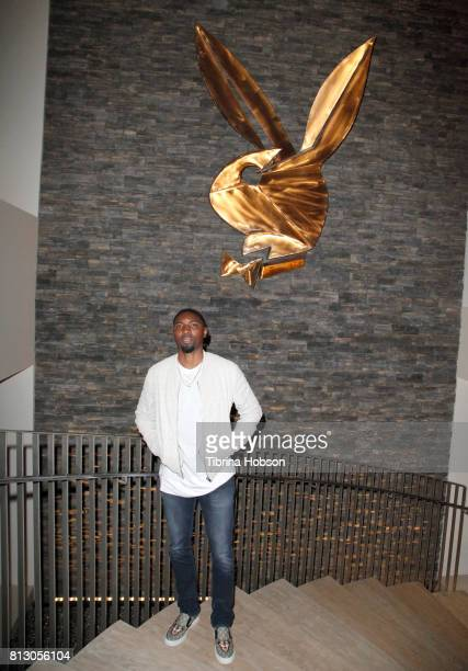 Roger Mason Jr attends the Talent Resources Sports Party hosted by Martell Cognac at Playboy Headquarters on July 11 2017 in Los Angeles California