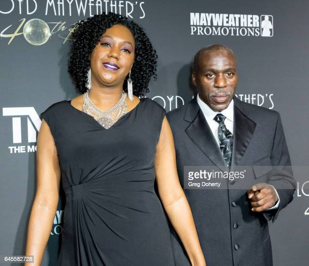 Roger Mayweather attends Floyd Mayweather's 40th Birthday Celebration on February 25 2017 in Los Angeles California