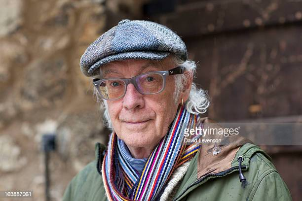 Roger McGough poet attends the Sunday Times Oxford Literary Festival at Christ Church Oxford on March 17 2013 in Oxford England