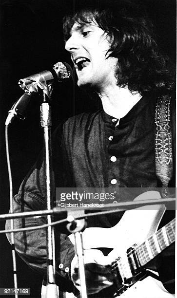 Roger McGuinn from The Byrds performs live on stage in Rotterdam Holland on June 27 1970