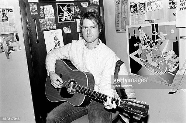Roger McGuinn of The Byrds in New York City on February 10 1981