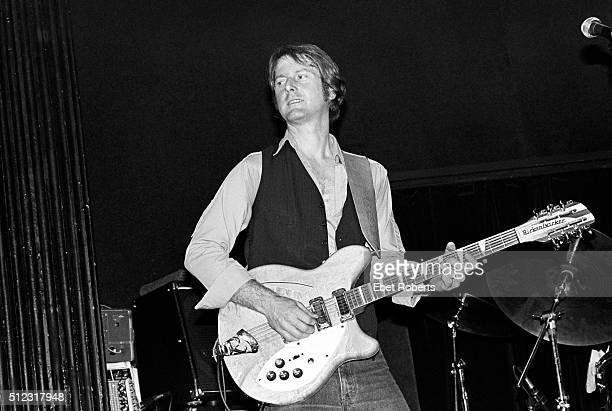 Roger McGuinn performing at the Bottom Line in New York City on February 11 1981