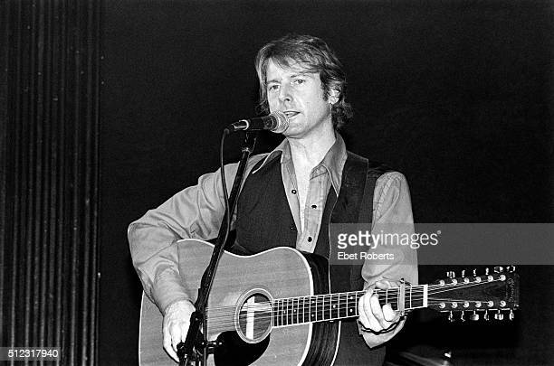 Roger McGuinn performing at the Bottom Line in New York City on February 23 1979