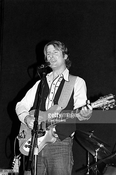 Roger McGuinn performing with McGuinn Clark and Hillman at the Bottom Line in New York City on February 23 1979