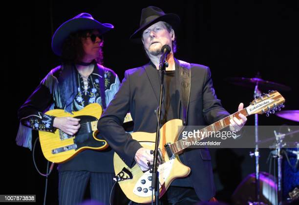 Roger McGuinn performs during the Sweetheart of the Rodeo Reunion at The Mountain Winery on July 29, 2018 in Saratoga, California.