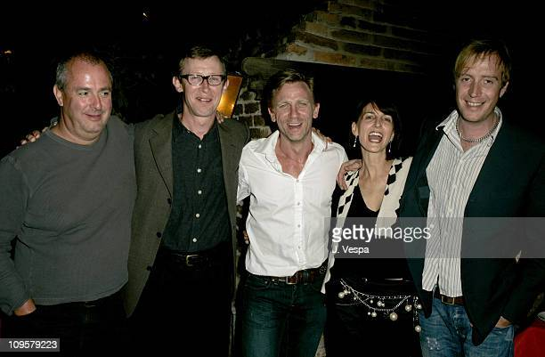 Roger Michell, Kevin Loader, Daniel Graig, Ruth Vitale and Rhys Ifans