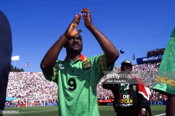 Roger Milla Cameroun / Suede Coupe du Monde 1994 Photo Alain Gadoffre / Icon Sport