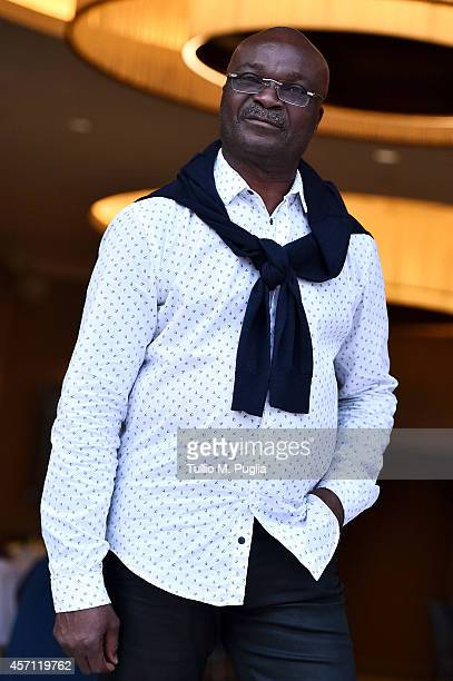 Roger Milla attends the Golden Foot Interviews Day at Monte Carlo Bay hotel on October 12 2014 in MonteCarlo Monaco