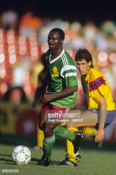 Roger Milla Cameroon and Andres Escobar Colombia