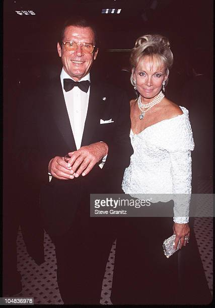 Roger Moore and Kristina Tholstrup during 13th Annual Carousel of Hope Ball Benefiting Childrens Diabetes at Beverly Hilton Hotel in Beverly Hills...