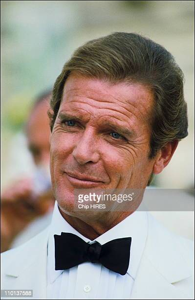 Roger Moore in film'A view to Kill' on August 171984