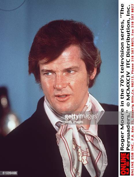 Roger Moore In The 70's Television Series 'The Persuaders'