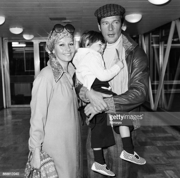 Roger Moore, off to Los Angeles from Heathrow Airport, is planning to a make a comedy film in Hollywood. He left London with his wife Luisa and their...