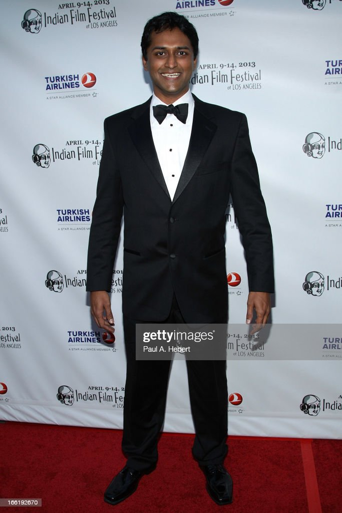 Roger Narayan attends the Indian Film Festival Of Los Angeles (IFFLA) Opening Night Gala For 'Gangs Of Wasseypur' on April 9, 2013 in Hollywood, California.