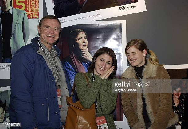 Roger Pace Elise Kerr and Brooke McSpadden during 2005 Sundance Film Festival Alfred P Sloan Foundation Reception at Kimball Arts Center in Park City...