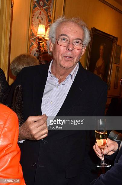 Roger Pol Droit attends the Procope Des Lumieres' Literary Awards First Edition at the Procope on January 30 2012 in Paris France