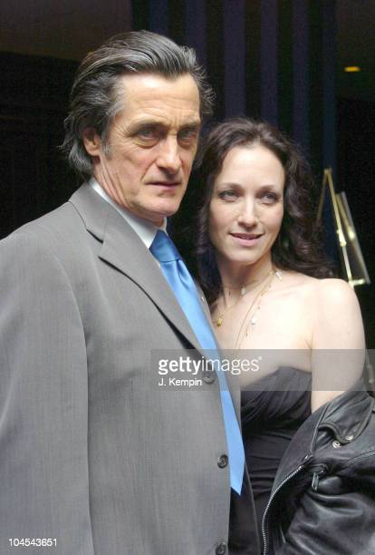 Roger Rees and Bebe Neuwirth during Williamstown Theatre Festival Honors Blythe Danner at Sheraton New York Hotel Towers in New York City New York...