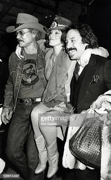 Roger Smith AnnMargret and Bernie Yuman during Best of Vegas Awards at Tropicana Hotel in Las Vegas Nevada United States